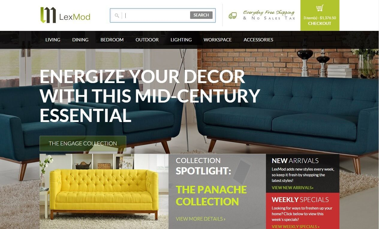 Lexmod Website