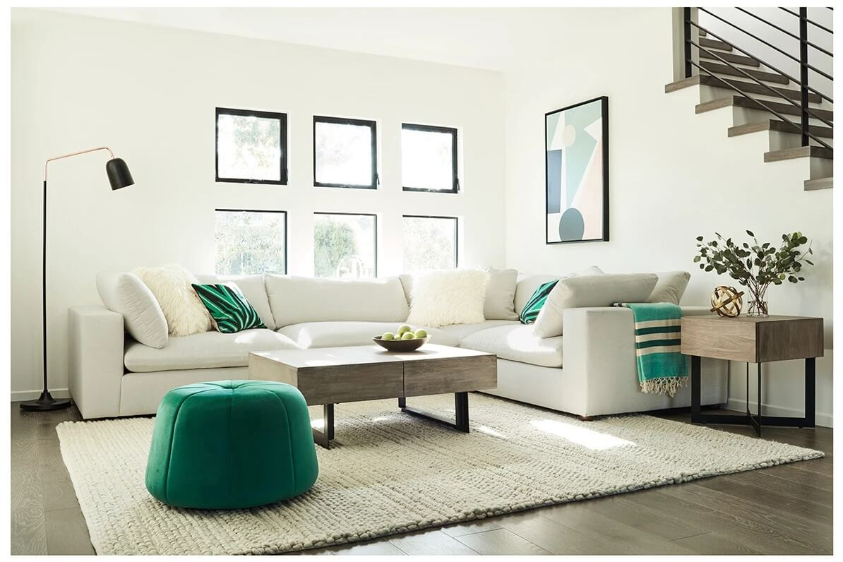 Goliath 2-Piece Modular Couch