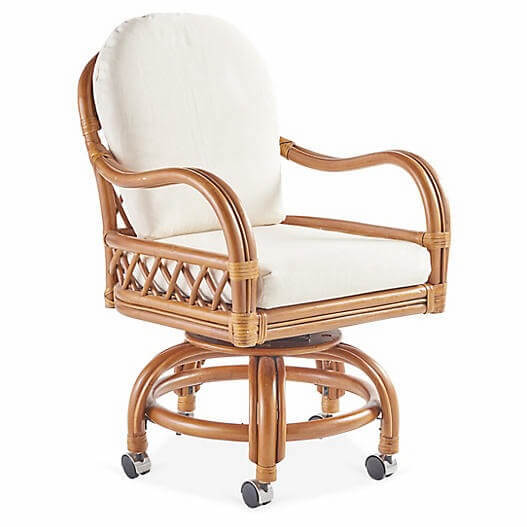Antigua Rattan Swivel Chair