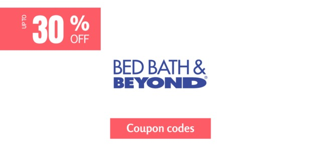 bed bath & beyond 30% off