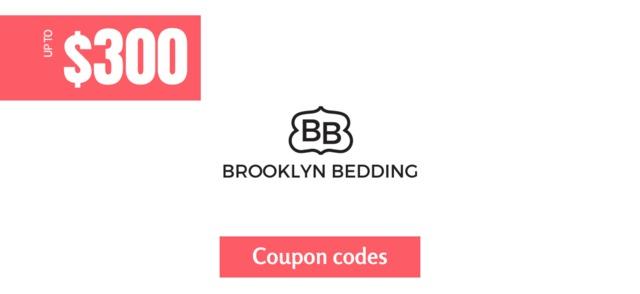 brooklyn bedding $300 off