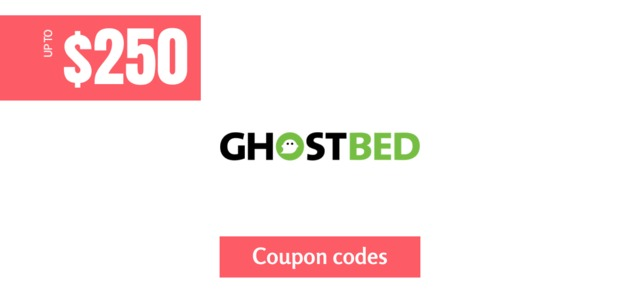 ghostbed $250 off