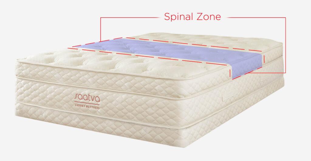saatva spinal zone