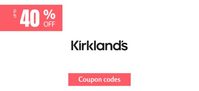 kirklands 40% off