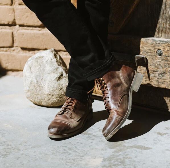 Huckberry Rhodes Dean Boot