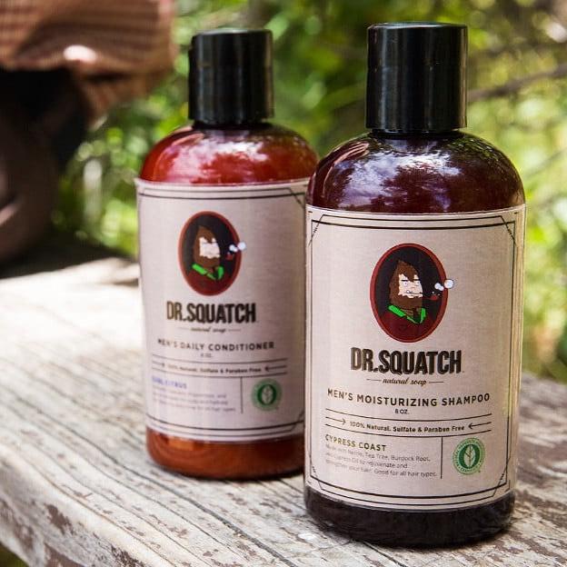 Dr. Squatch Shampoo and Conditioner Review