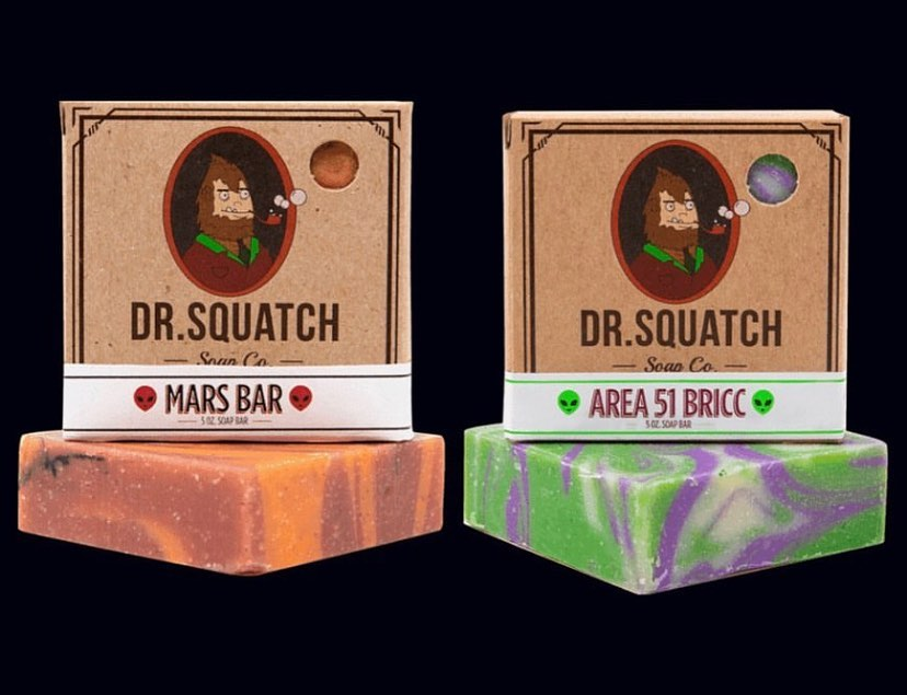 Dr. Squatch soap reviews and ratings