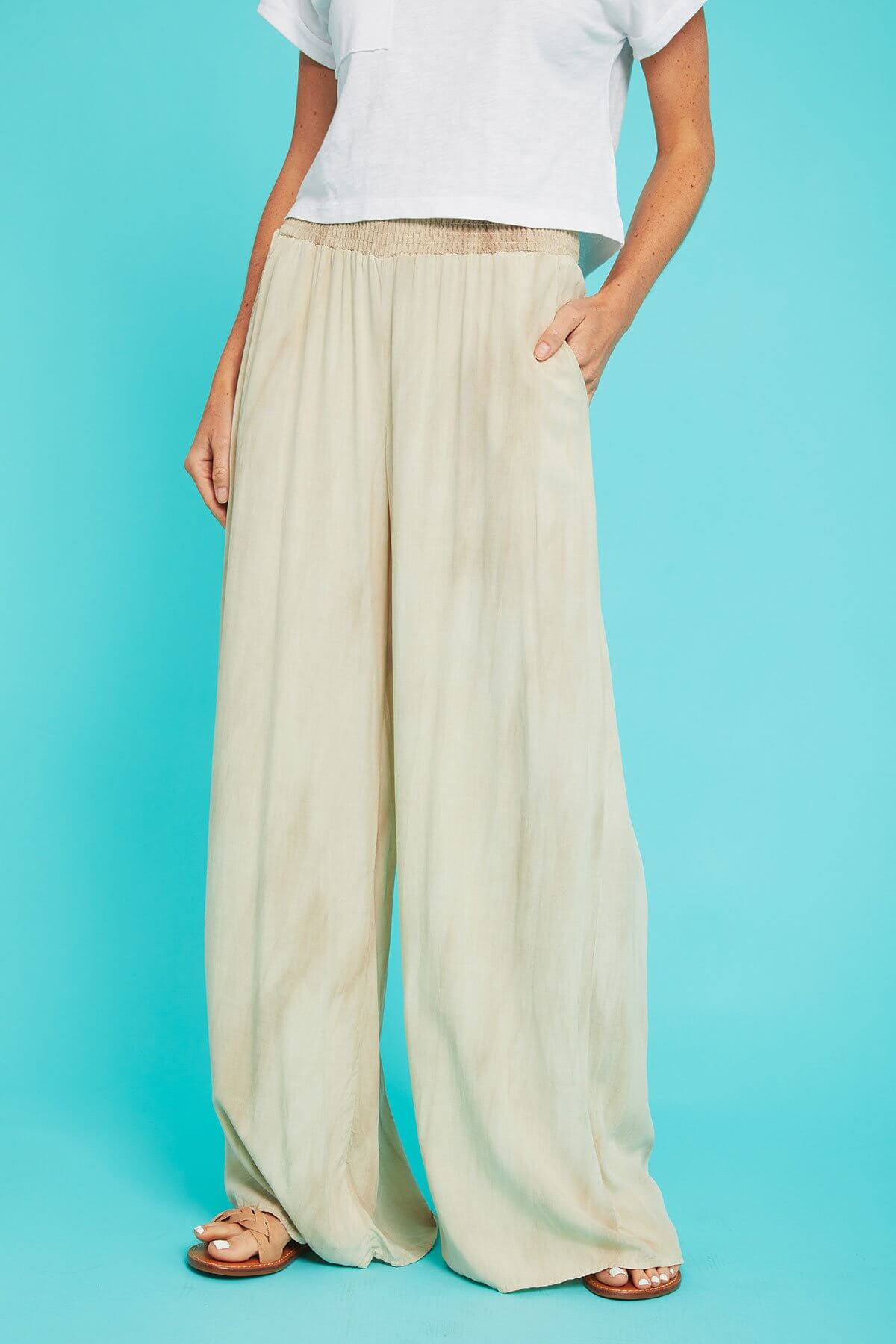 Final Touch Pigment Dyed Printed Beach Pants Review