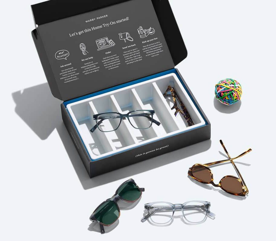 Warby Parker Try On Home