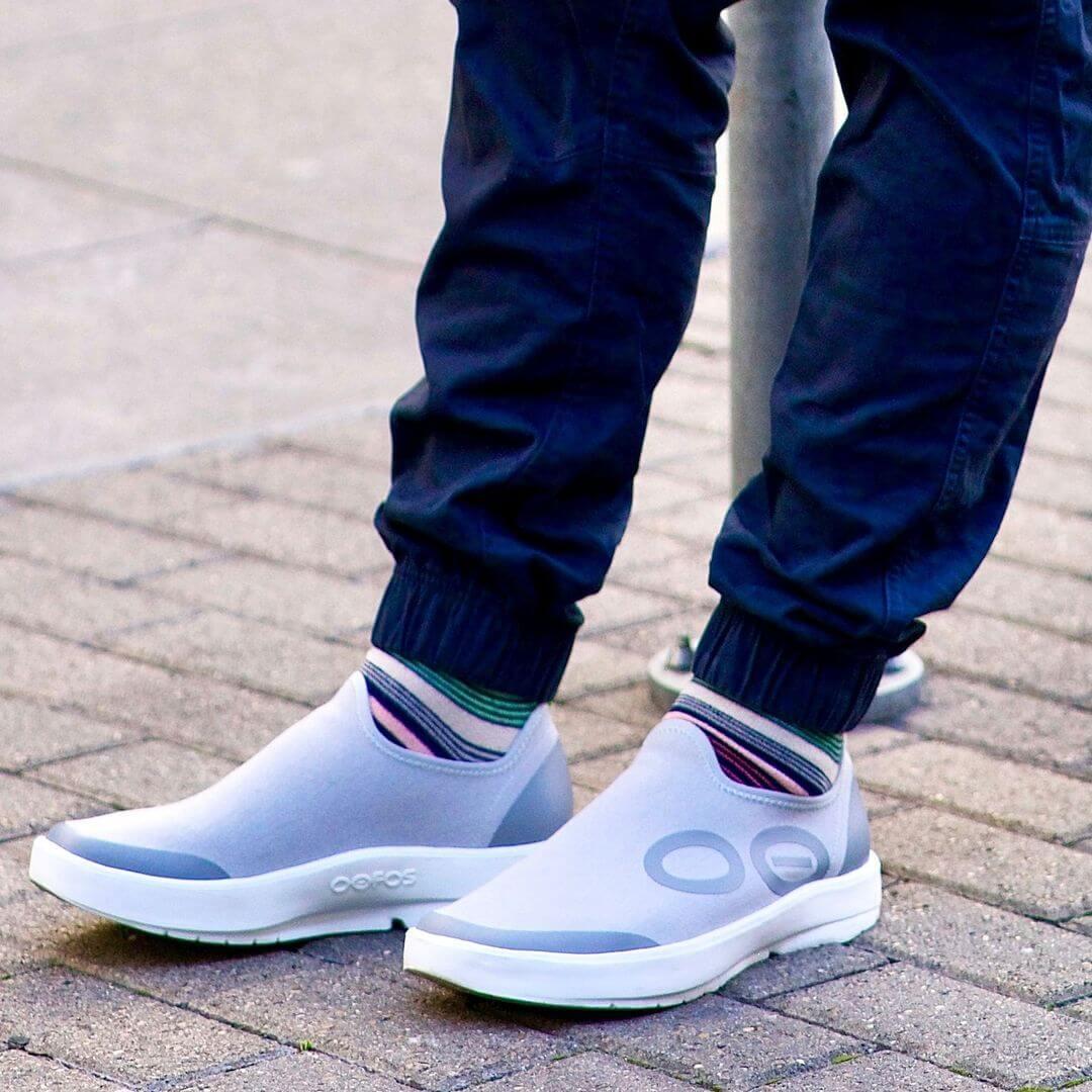 Oofos men's shoes